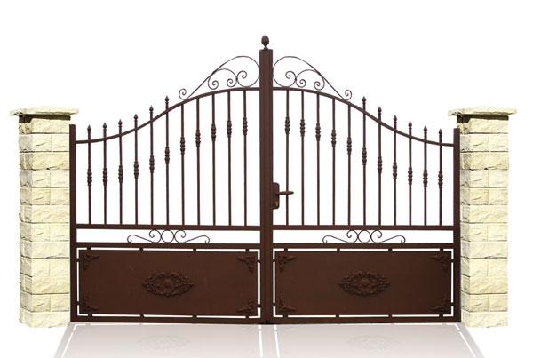 Cadiou industrie batisalon salon permanent des for Quelle peinture pour portail en fer