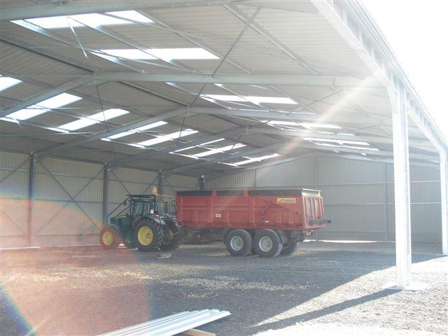 Batiment agricole en kit batisalon salon permanent des for Plan hangar agricole