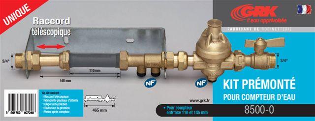 Grk robinetterie batisalon salon permanent des professionnels du batiment - Installer un compteur d eau individuel ...