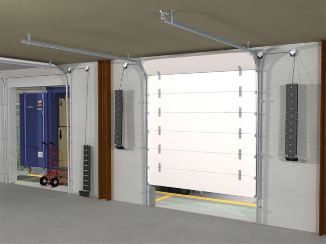 Mantion batisalon salon permanent des professionnels du for Rail de porte de garage sectionnelle