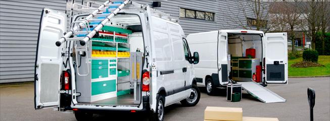 Optima system batisalon salon permanent des for Amenagement interieur vehicule utilitaire