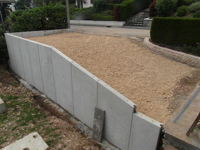 attractive element prefabrique pour mur de soutenement #7: murs