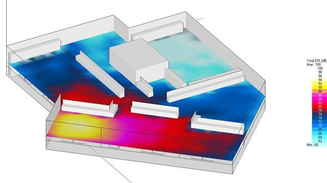 Spc acoustique batisalon salon permanent des for Simulation 3d salon